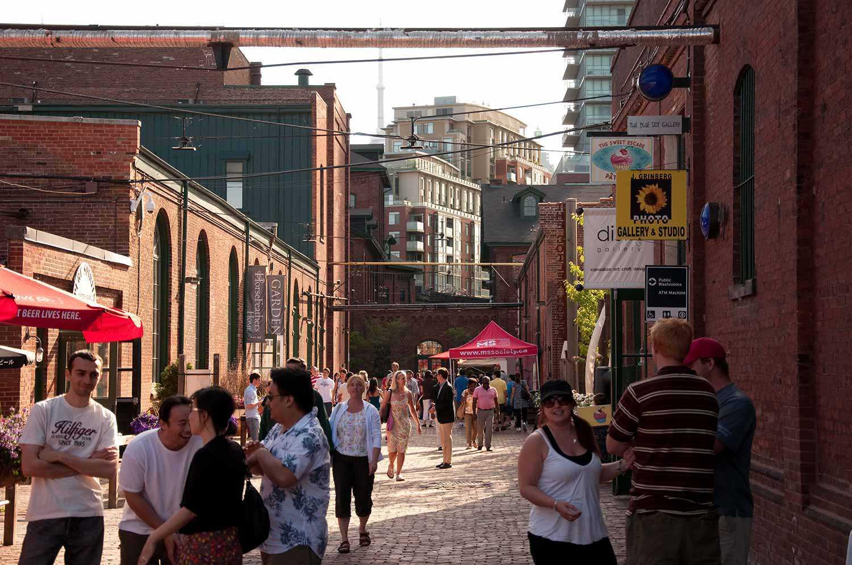 Toronto's Distillery District (Photo: Josh Evnin)